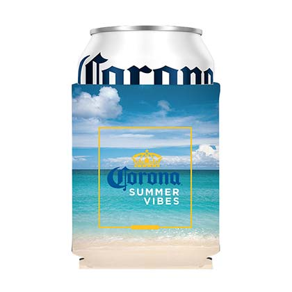 CORONA EXTRA Summer Vibes Can Insulator