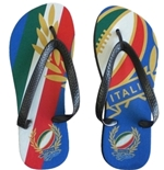Italy Rugby Flip Flops