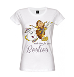 Beauty and the Beast Ladies T-Shirt Besties
