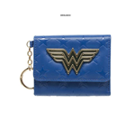 Wonder Woman - Blue Tri Fold - Wallet