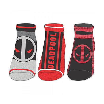 DEADPOOL Ankle Socks Set