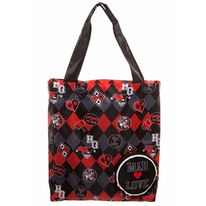 HARLEY QUINN Mad Love Tote Bag