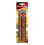 LEGO Ninjago Pencil 6-Pack