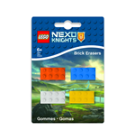 LEGO Nexo Knights Mini-Erasers 4-Pack