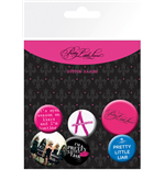 Pretty Little Liars Badge Pack - Mix