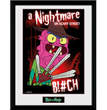 Rick and Morty Framed Print - Scary Terry
