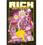 Rick and Morty Poster - Action Movie - 61x91,5cm