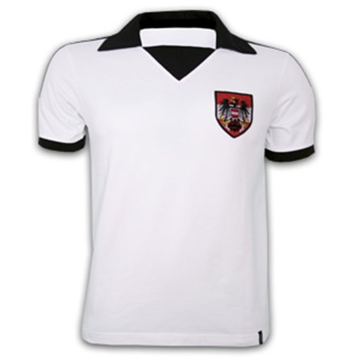 Austria WC 1978 Short Sleeve Retro Shirt 100% cotton