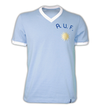 Uruguay 1970\'s Short Sleeve Retro Shirt 100% cotton