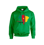 Cameroon 2014 Country Flag Hoody (green) - Kids