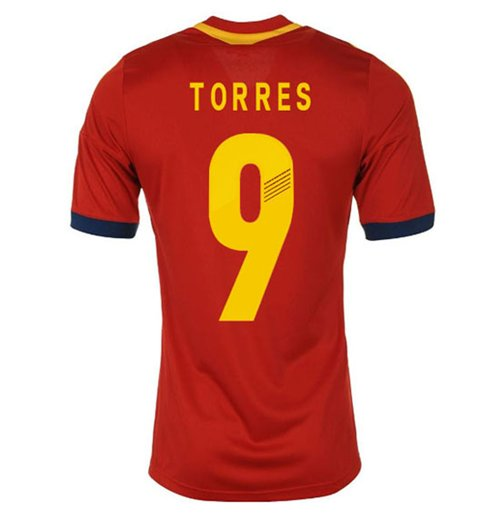 2013-14 Spain Home Shirt (Torres 9) - Kids