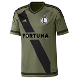 2015-2016 Legia Warsaw Adidas Away Football Shirt
