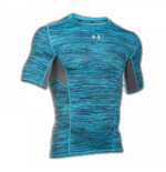 Under Armour Heatgear CoolSwitch SS Compression Tee (Meridan Blue)