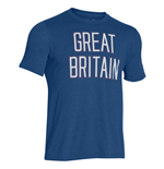 Under Armour Great Britain Triblend Tee (Blue)