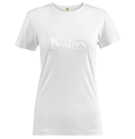 The Beatles Ladies Fashion Tee: Drop T Logo