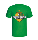 Cameroon Country Logo T-shirt (green) - Kids