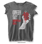Green Day Ladies Fashion Tee: American Idiot Vintage