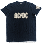 AC/DC Men's Fashion Tee: Logo & Angus