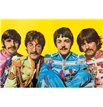 The Beatles Poster - Lonely Hearts Club - 61 x 91,5 cm