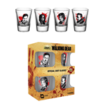 The Walking Dead 4 Shotglasses - Characters New