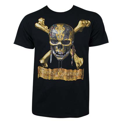 PIRATES OF THE CARIBBEAN Dead Men Tell No Tales Tee Shirt