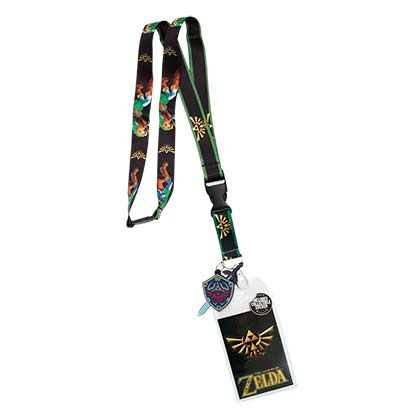 The LEGEND OF ZELDA Link Lanyard