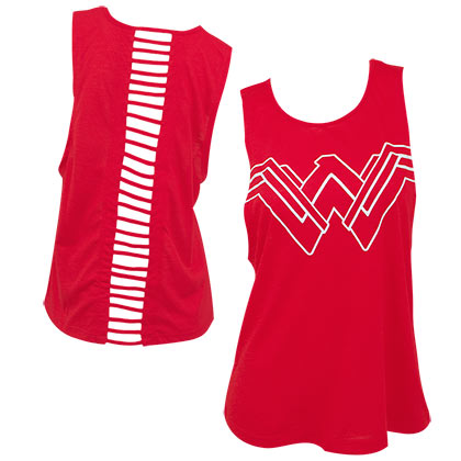 WONDER WOMAN Open Back Tank Top