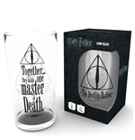 Harry Potter Glass - Deathly Hallows