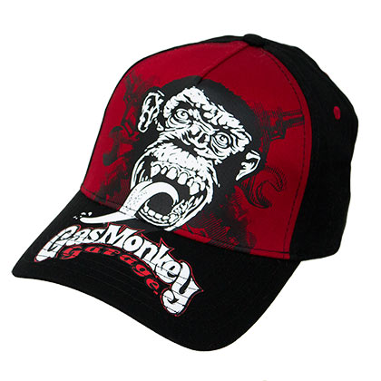 902ecc77c3e Buy Official GAS MONKEY GARAGE Blood Sweat Beers Snapback Hat