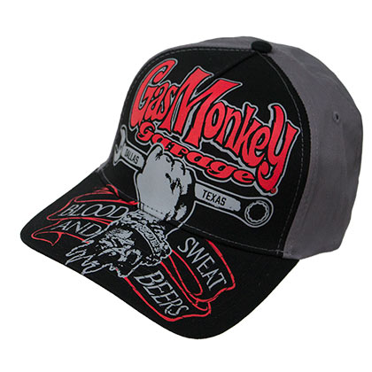 GAS MONKEY GARAGE Texas Automobile Snapback Hat