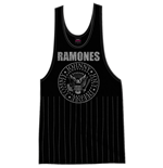 Ramones Ladies Tee Vest: Vintage Presidential Seal with Tassels