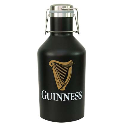 GUINNESS Black Stainless Growler