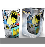 Batman Premium Pint Glass Comic Wrap