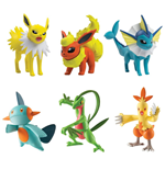 Pokemon Action Figures 3-pack 6 cm Assortment D3 (4)