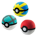 Pokemon Plush Pokeballs 7 cm Display D3 (6)