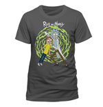 Rick and Morty T-Shirt Spiral