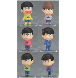 Osomatsu-san Mini Figures 4 cm Assortment (6)