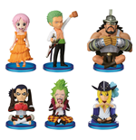 One Piece WCF ChiBi Figures 7 cm Assortment Dressrosa 4 (25)
