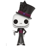 Nightmare Before Christmas POP! Vinyl Figure Dapper Jack Skellington 9 cm