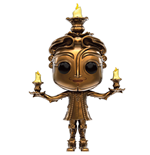 Beauty and the Beast POP! Disney Vinyl Figure Lumiere 9 cm