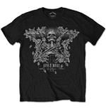 Guns N' Roses Men's Tee: Skeleton Guns
