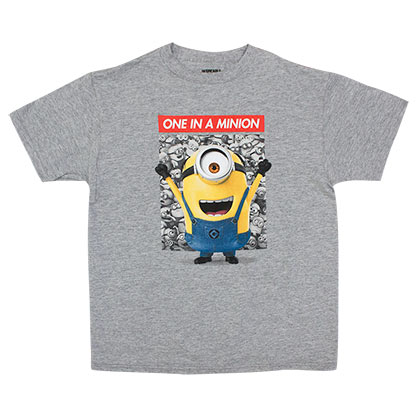 DESPICABLE ME One In A Minion Youth Tee Shirt