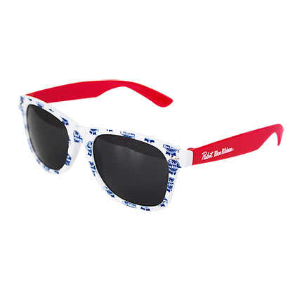 Pabst Blue Ribbon Logo Sunglasses