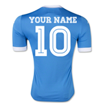 2015-2016 Napoli Authentic Home Shirt (Your Name)