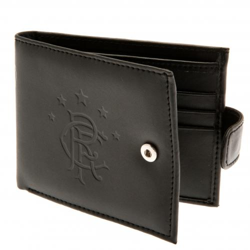 Rangers F.C. Embossed Leather Wallet 805