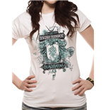 Harry Potter - Beauxbatons - Women Fitted T-shirt White