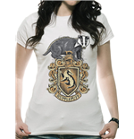 Harry Potter - Hufflepuff - Women Fitted T-shirt White