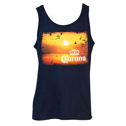 CORONA EXTRA Sunset Tank Top