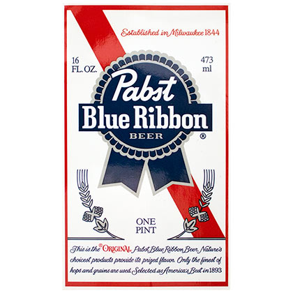 Pabst Blue Ribbon Sticker