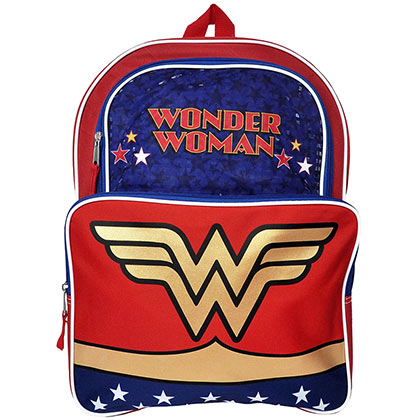 WONDER WOMAN Reflective Patriotic Backpack